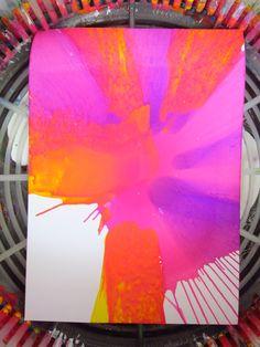 Arte con Centrifugadora de Ensalada {salad spinner art}