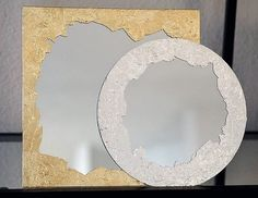 DIY Anthropologie Mirror Completed