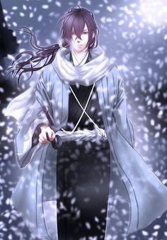 zerochan/Hakuouki Shinsengumi Kitan/Saitou Hajime (Hakuouki)