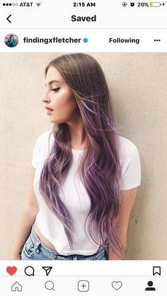 Purple Hair!! Gorgeous