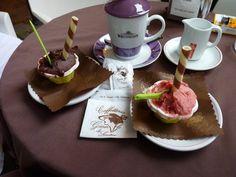 Gellatto and Tea in Palermo, Sicily