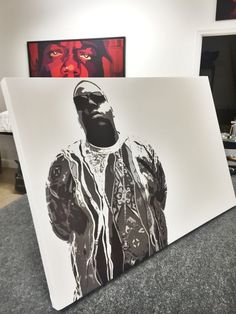 Biggie smalls - notorious B.I.G - it was all a dream hip hop rap canvas print