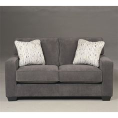 Signature Design by Ashley Furniture Hodan Loveseat in Marble