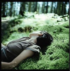 """""""Do you know what I need? To escape into the mountains, surrounded by tall trees, I will lay on the moss, and breathe in the scent of mushrooms, flowers and wet soil."""" — L' Échappée, Les Discrets"""
