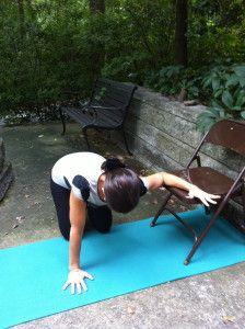 19 best chair yoga images  chair yoga yoga yoga for seniors