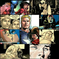 Steve Rogers married with Scarlet Witch and they had twins.. Earth-22795. I hope they fallow this story line in the MCU.