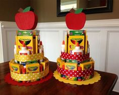 Here is a cute way to prepare your kid's Back to School supplies that they s… Here is a cute way to prepare your kid's Back to School supplies that they surely will appreciate. School Supply CakeFree Teacher SVG Files –Back to School Teacher Gi School Supplies Cake, Teacher Supplies, Back To School Supplies, Cake Supplies, Back To School Party, Back To School Gifts, School Parties, School Centerpieces, School Decorations