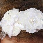 Headband for christening