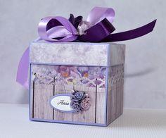 cARTa cARTolina! : Pudełka z życzeniami - exploding boxes