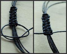 Wish Bracelet Tutorial | sliding knot tutorial.