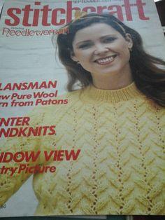 vintage stitchcraft magazine by HABERDASHERYHAVEN on Etsy