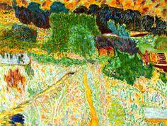 Large Landscape, South of France (Le Cannet) Pierre Bonnard - 1945