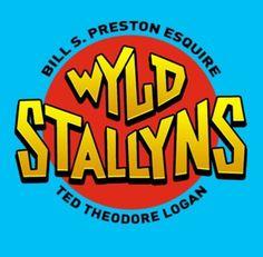 WYLD STALLYNS DAMEN T-SHIRT Bill /& Ted/'s and Excellent verrückte Reise Adventure