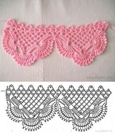 Резултат с изображение за bicos e barrados de croche para pano de prato com grafico Crochet Boarders, Crochet Edging Patterns, Crochet Lace Edging, Crochet Motifs, Crochet Diagram, Crochet Chart, Crochet Designs, Crochet Doilies, Crochet Stitches