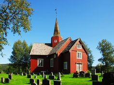 The Budal church in Sør-Trøndelag is one of the few Y-shaped churches. It was built in 1754.