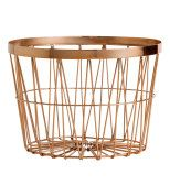 H&M copper basket