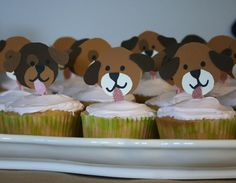 Puppy themed birthday party