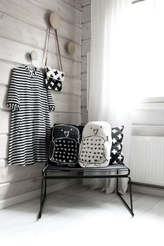 owl pillows for the kids hay hee muuto dots bedroom scandinavian