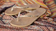 Reef Brazilian #Leather #sandals  #reef