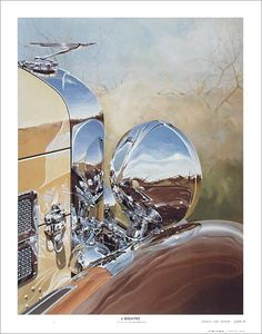 """1932 Duesenberg -- Chrome"" by Tom Hale"