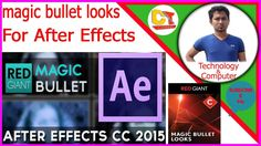 How to download and install🍀magic bullet looks🍀after effects,2017