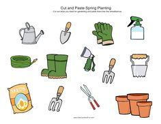 gereedschap voor te planten