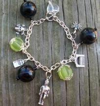FRANKENSTEIN Halloween charm bracelet
