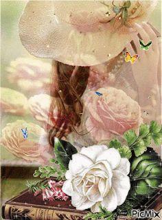 246 Mejores Imágenes De Mujer Y Flores Floral Wreath Boho Wedding