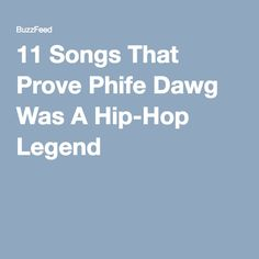 11 Songs That Prove Phife Dawg Was A Hip-Hop Legend
