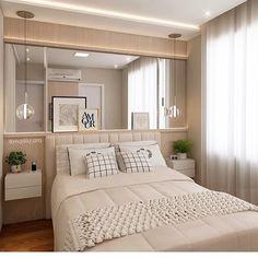 """872 curtidas, 13 comentários - D E C O R A Ç Ã O (@decoracomagente) no Instagram: """"Quarto simples e aconchegante ❤ #designdeinteriores #decor #home #casa #decoracomgente…"""""""