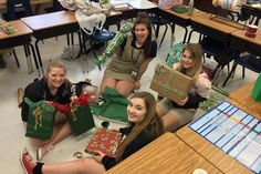Walker DECA members gave students in need a special holiday treat this past December. Helping Hands, January 2016, Community Service, Fundraising, Students, Non Profit Jobs, Fundraisers