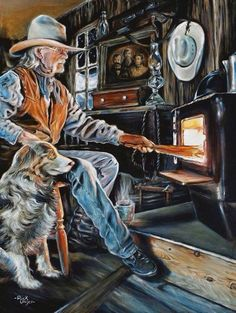 Ranch & Reserve Magazine Vol 1 Issue 7 Rick Unger: A Painter of Western Life Cowboy Horse, Cowboy Art, Cowboy And Cowgirl, Western Photo, Cowboy Pictures, Cowboy Images, Real Cowboys, West Art, Le Far West