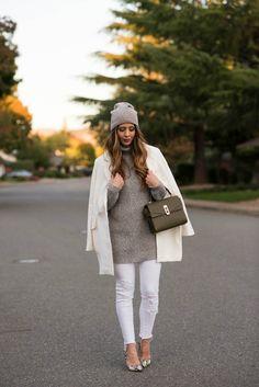 Winter Whites #fashion
