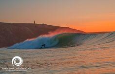 Porthtowan Surf Photo by Alex Callister