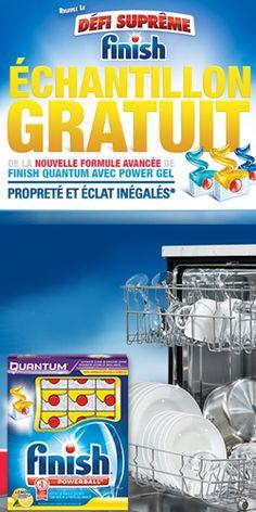 Échantillon de savon Finish Quantum.  http://rienquedugratuit.ca/echantillon-gratuit/savon-finish-quantum-2/