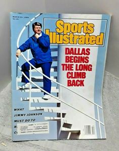 Magic Johnson Lakers, Football Records, Lee Trevino, Jimmy Connors, Sports Illustrated Covers, Jimmy Johnson, Jordan Bulls, Season Ticket, March 20th