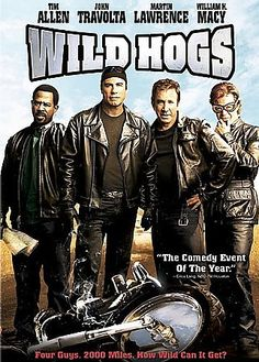 Wild Hogs. 2-1-2014. FUNNY! I laughed so hard while I was watching this!!