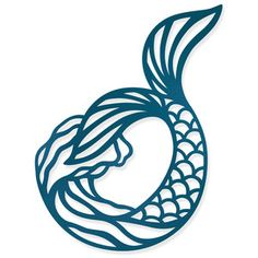 Silhouette Design Store: Mermaid Tail - Image of design store tattooideas - . - Ginny Earnshaw - Silhouette Design Store: Mermaid Tail – Image of design – … Silhouette Design Store: Mermaid Tail – Image of design –