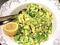 Her er din nye yndlingssalat: Lettuce, Celery, Guacamole, Spinach, Grilling, Stuffed Mushrooms, Paleo, Food And Drink, Vegetables