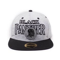 5a113a70776 Black Panther Baseball Cap Panther Metal Badge Logo Marvel Snapback -  Paradiso Clothing Badge Logo