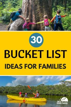 Do you need family travel inspiration or ideas? Here is our ultimate list of 30 simple bucket list ideas that you can use to include the entire family. , 30 Simple Bucket List Ideas For Families, Travel List, Travel Guides, Budget Travel, Travel News, Bergen, Travel With Kids, Family Travel, Group Travel, Couple Disney