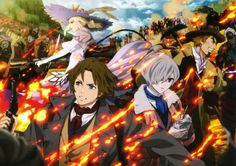Moetron News • The Empire of Corpses scan #Project_Itoh