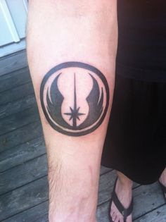 """Middle lower back, """"Do or Do Not, There is No Try"""" placed around it"""