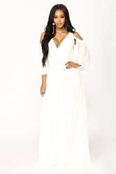 5d1423faffa Sounds Of Summer Maxi Dress - Off White