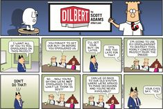 The 10 funniest Dilbert comic strips about idiot bosses - Business Insider