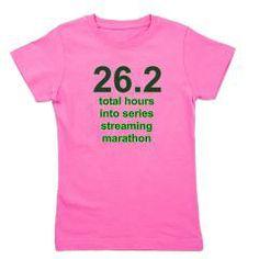 streamathon girls dark t-shirt > $17.99US > babybitbyte (cafepress.com/babybitbyte) #babybitbyte #cafepress #nerd #geek #stream #streaming #marathon #tv #tvseries #hour #hours #funny #runner #running #girl #girls #tshirt #tee #girlstee #girlstshirt