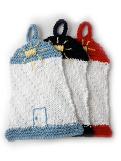 Lighthouse Dishcloth | Yarn | Free Knitting Patterns | Crochet Patterns | Yarnspirations