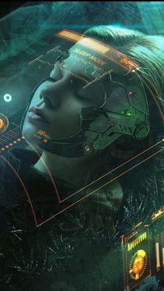 Cyberpunk Character, Cyberpunk Art, Fantasy Concept Art, Dark Fantasy Art, Sci Fi Environment, Ajin Anime, Futuristic Background, Technology Wallpaper, Fantasy Art Landscapes