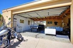 Garage Game Room On Pinterest Garages Game Rooms And