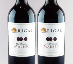 O berço do Malbec: Rigal The Original Malbec 2012 #vinho #malbec #cahors #frança